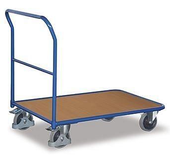 VARIOfit-duwwagen, lichte uitvoering, draagvermogen 200 kg, thermoplastische rubberbanden, sw-600.109