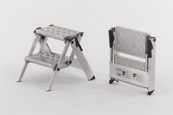 WAKÜ Little Jumbo Compacte veiligheidstrap met aluminium kwintettreden, 220 ° C