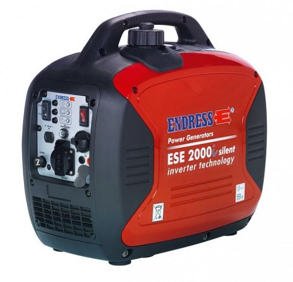 Endress ESE 2000i-benzinegenerator gedempt - 1.6 kVA / 230 V / omvormer, 110005