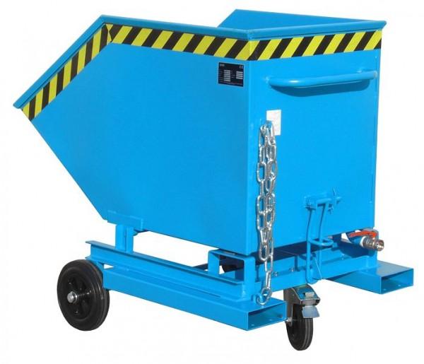 Bauer-spaanbox van SKW-ET 400, gelakt, RAL 5012 lichtblauw, 4438-41-0000-3